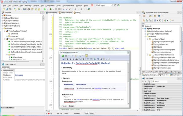 Screenshot of Documentation Insight