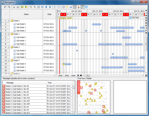 Screenshot of FlexGantt