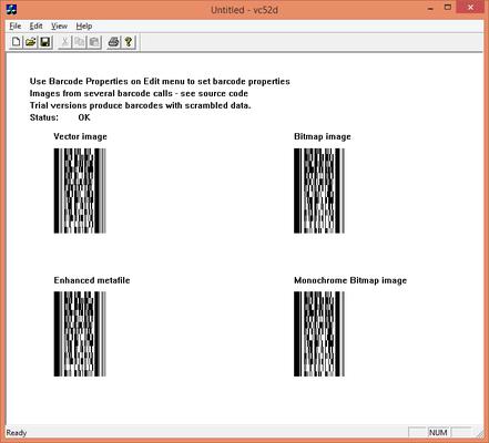 dBarcode-2D DLL - PDF417