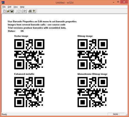 dBarcode-2D DLL - QR Code