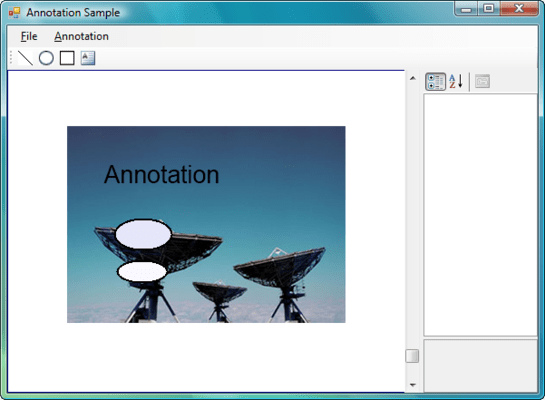 Screenshot of Dynamic Annotation