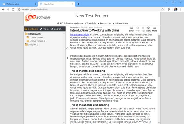 Help & Manual Premium Pack(英語版) のスクリーンショット