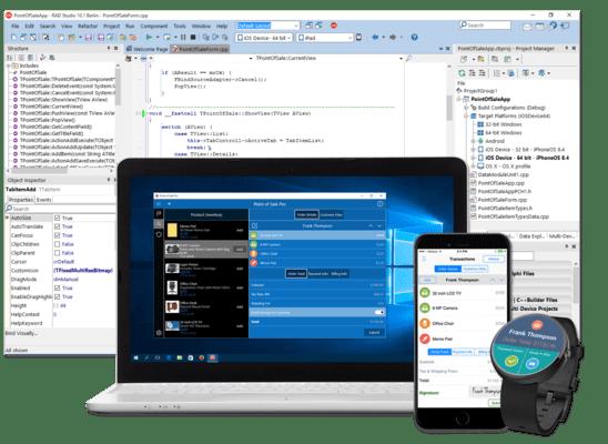 Captura de pantalla de C++Builder Architect