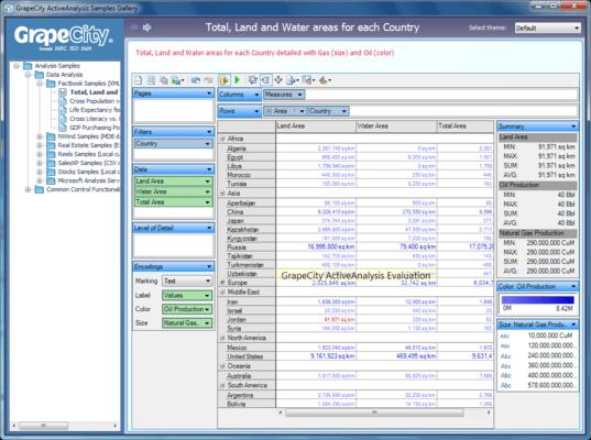 ActiveAnalysis(英語版) のスクリーンショット