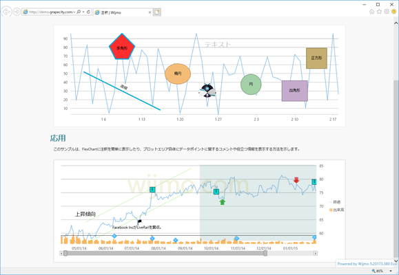 Wijmo Enterprise(日本語版) のスクリーンショット
