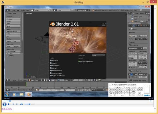 3D Modeling in Blender のスクリーンショット