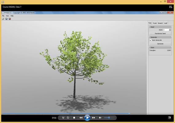 Captura de tela do PhysX Programming