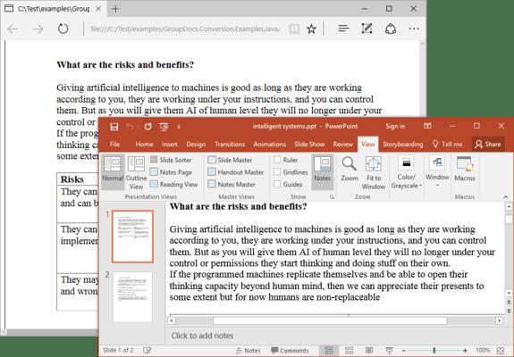 GroupDocs.Conversion for Java のスクリーンショット