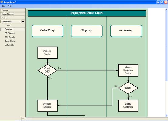 Screenshot of Netrix Shapes