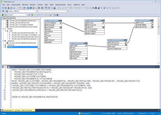 Screenshot of DB PowerStudio Developer Edition Multiplatform