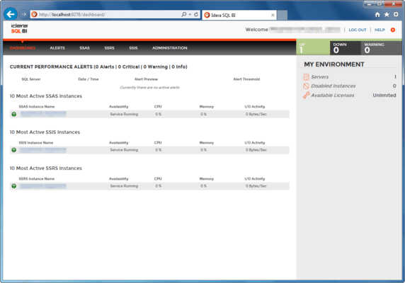 Screenshot of SQL BI Manager