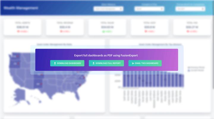 Screenshot of FusionExport
