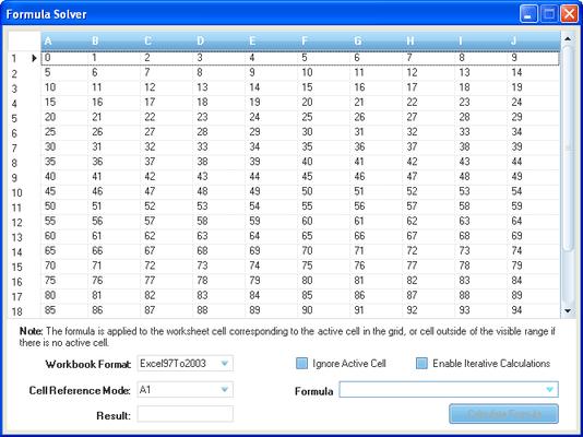 Infragistics WinGridExcelExporter のスクリーンショット