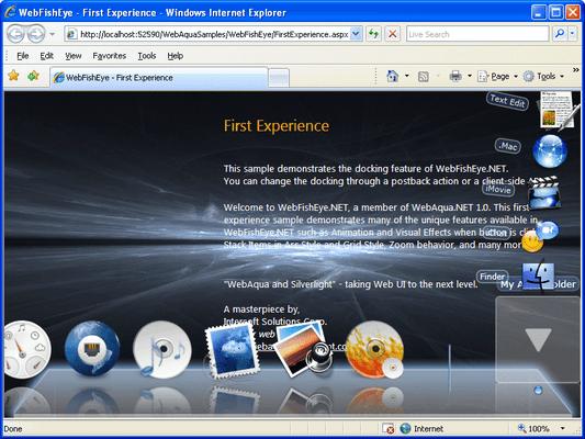 Screenshot of WebAqua