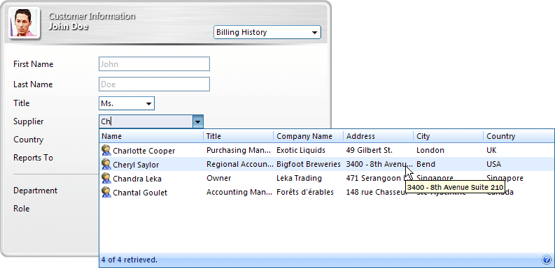 WebCombo(英語版) のスクリーンショット