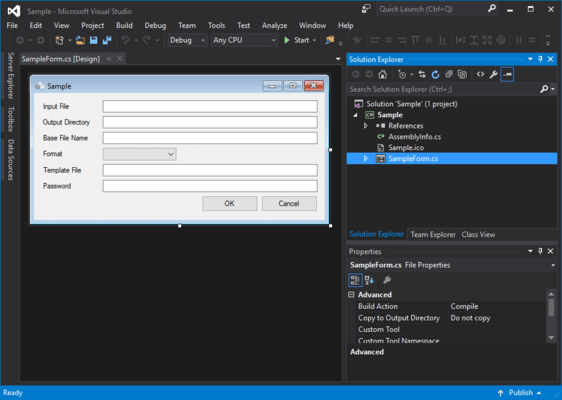 PDF to Image SDK(英語版) のスクリーンショット