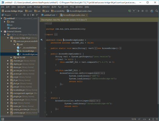 Screenshot of JetBrains All Products Pack