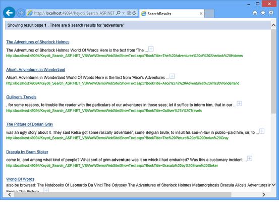SearchUnit Lite(英語版) のスクリーンショット