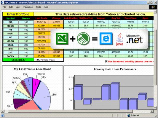 Screenshot of KDCalc