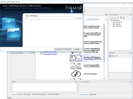 Liquid Studio JSON Editor Edition について