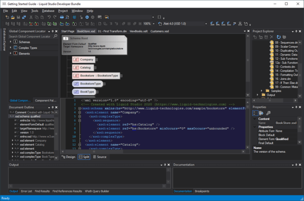 Screenshot of Liquid Studio Developer Bundle