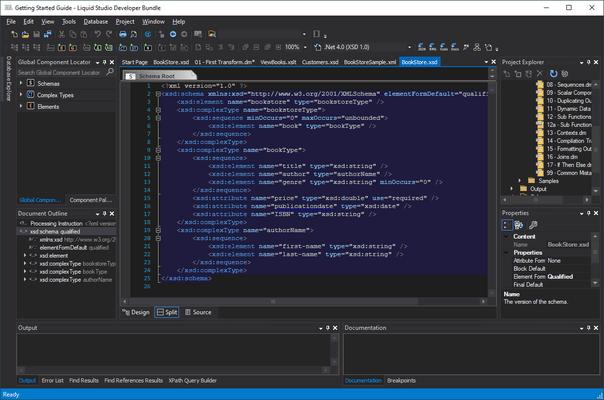 Screenshot of Liquid Studio XML Editor Edition