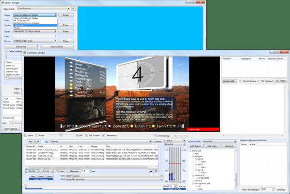Screenshot of MPlatform SDK
