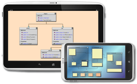 MindFusion.Diagramming for Android(英語版) のスクリーンショット