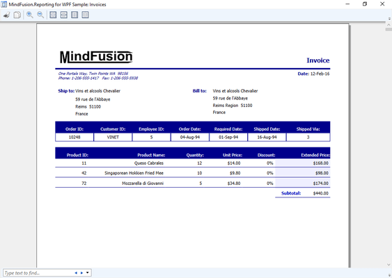About MindFusion WPF Pack