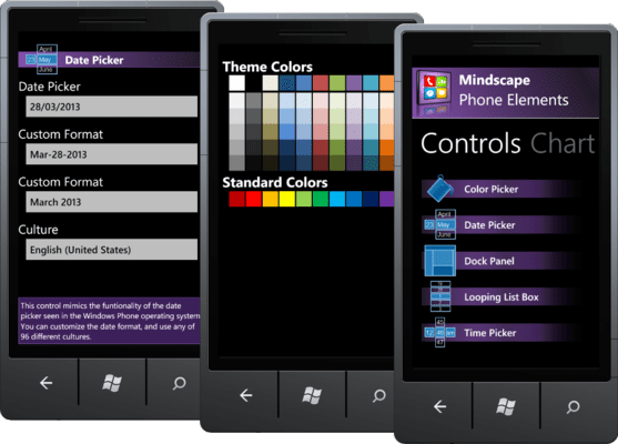Screenshot of Mindscape Phone Elements