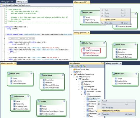 Captura de pantalla de Mindscape Visual Tools for SharePoint
