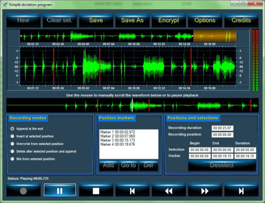 Screenshot of Active Sound Suite