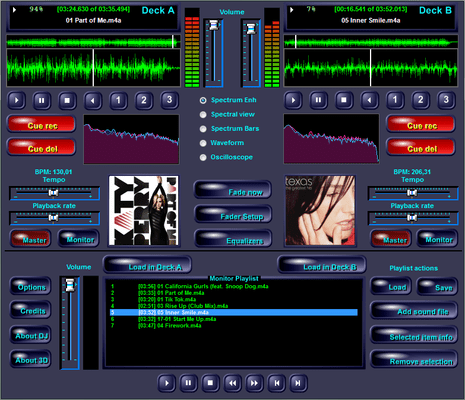 Audio DJ Studio for .NET 스크린샷
