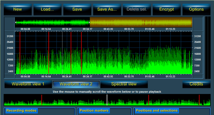 Audio Sound Recorder for .NET 스크린샷