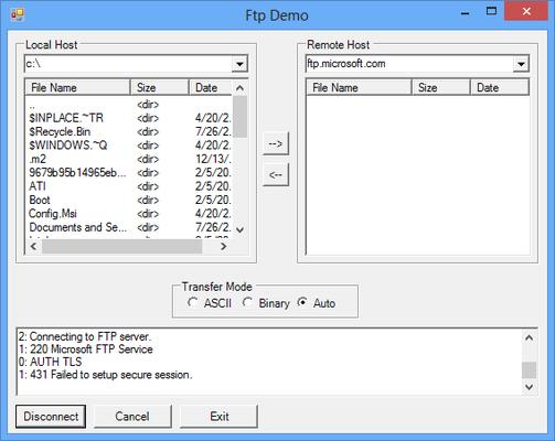 IPWorks .NET Edition 스크린샷