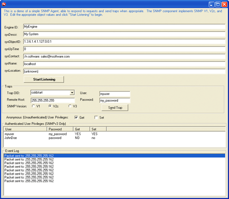 IP*Works! Secure SNMP C++ Builder Edition