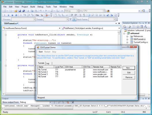 Screenshot of IP*Works! SSH ActiveX/COM Edition