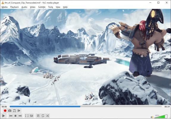 Screenshot of nablet mediaEngine
