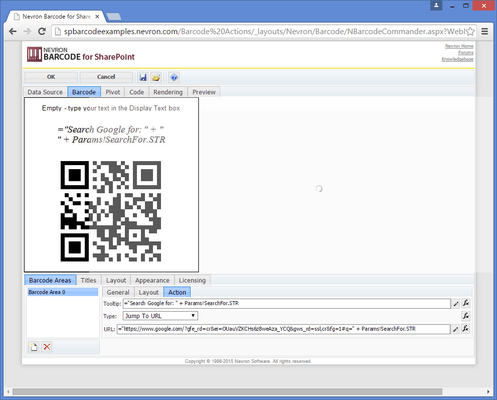 Über Nevron Barcode for SharePoint