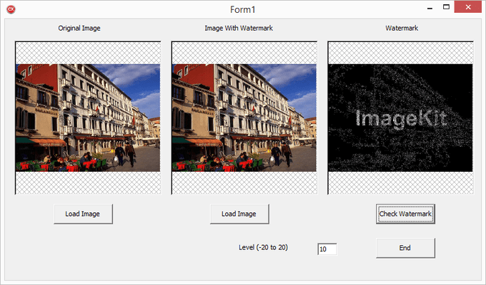 Screenshot of ImageKit9 VCL