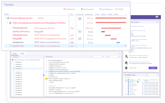 Screenshot of Ozcode Visual Studio Extension - Enterprise Edition