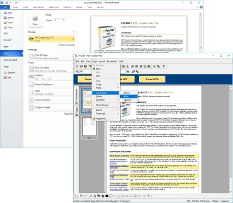 PDF Creator Plus 的螢幕截圖