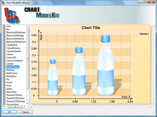 Chart ModelKit Win+Web Forms Edition のスクリーンショット