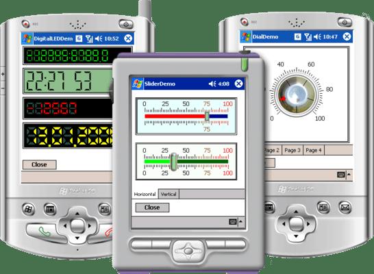 Screenshot of Instrumentation Widgets for PDA Standard Edition