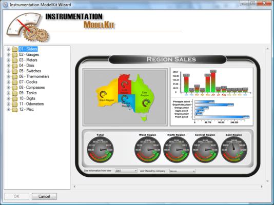 Screenshot of SharpShooter Dashboards.Web