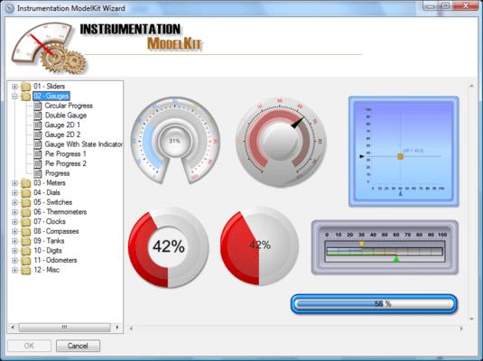 Screenshot of SharpShooter Gauges.Web