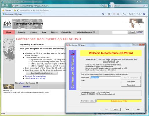 Conference-CD(英語版) のスクリーンショット