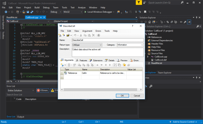 About XLL Plus for Visual Studio 2015 and 2017