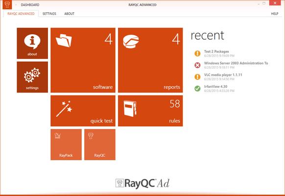 RayQC Advanced 스크린샷