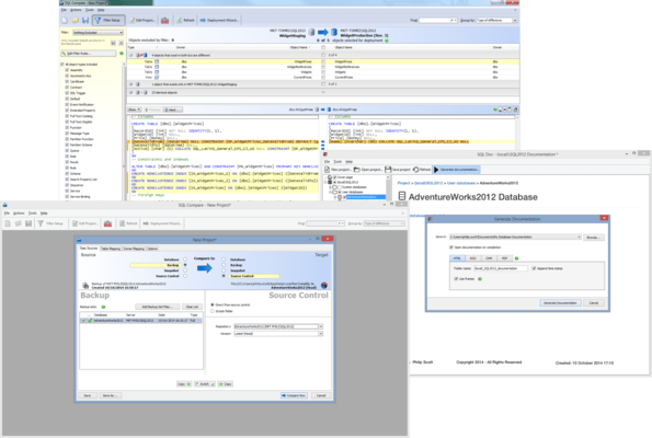 Screenshot of SQL Toolbelt Essentials